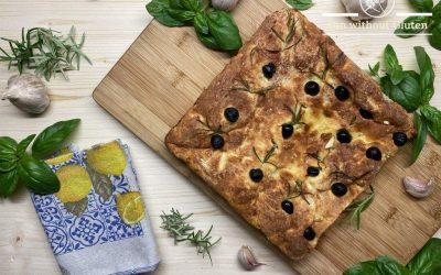 Easy Gluten-Free Focaccia Bread