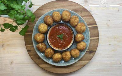 Gluten-Free Arancini Di Riso (Fried Risotto Balls)