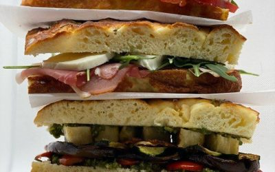 Gluten-Free Focaccia Sandwiches
