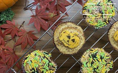 Gluten-Free Dulce de Leche Pumpkin Cupcakes