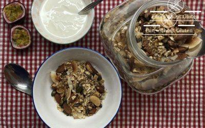 Gluten-Free Nut & Seed Granola