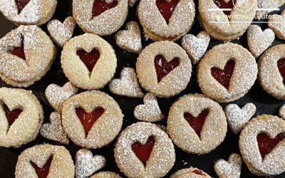 Gluten-Free Linzer Biscuits