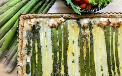 Gluten-Free Asparagus Tart