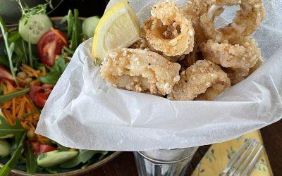 Gluten-Free Calamari Fritti