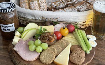 Gluten-Free Ploughman's Pickle with Walnut Baguette