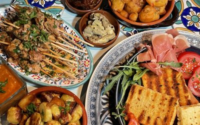 Gluten-Free Spanish Tapas Menu