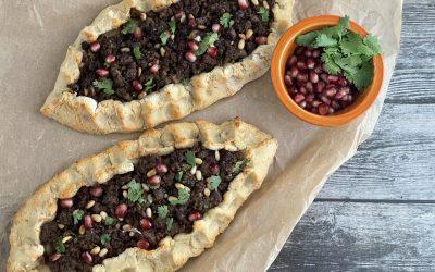 Gluten-Free Lamb Pide