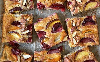 Gluten-Free Stone Fruit Cake