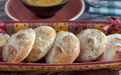 Gluten-Free Kaiser Bread Rolls (Kaisersemmel)